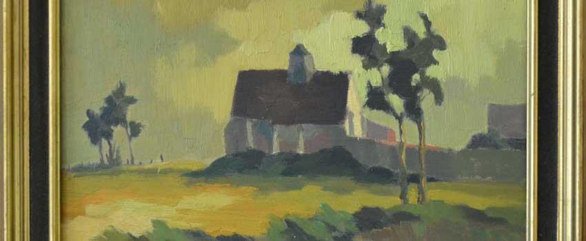 L'artiste peintre Elena Brugo