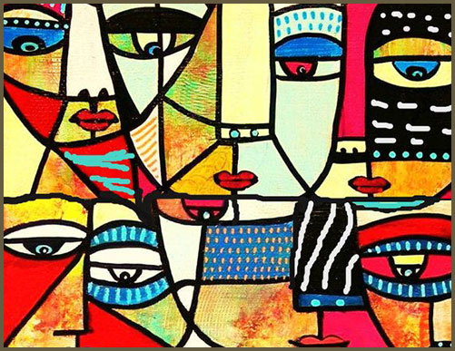 arts contemporain, primitif et moderne