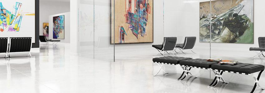 Exposition de tableaux maîtres contemporains